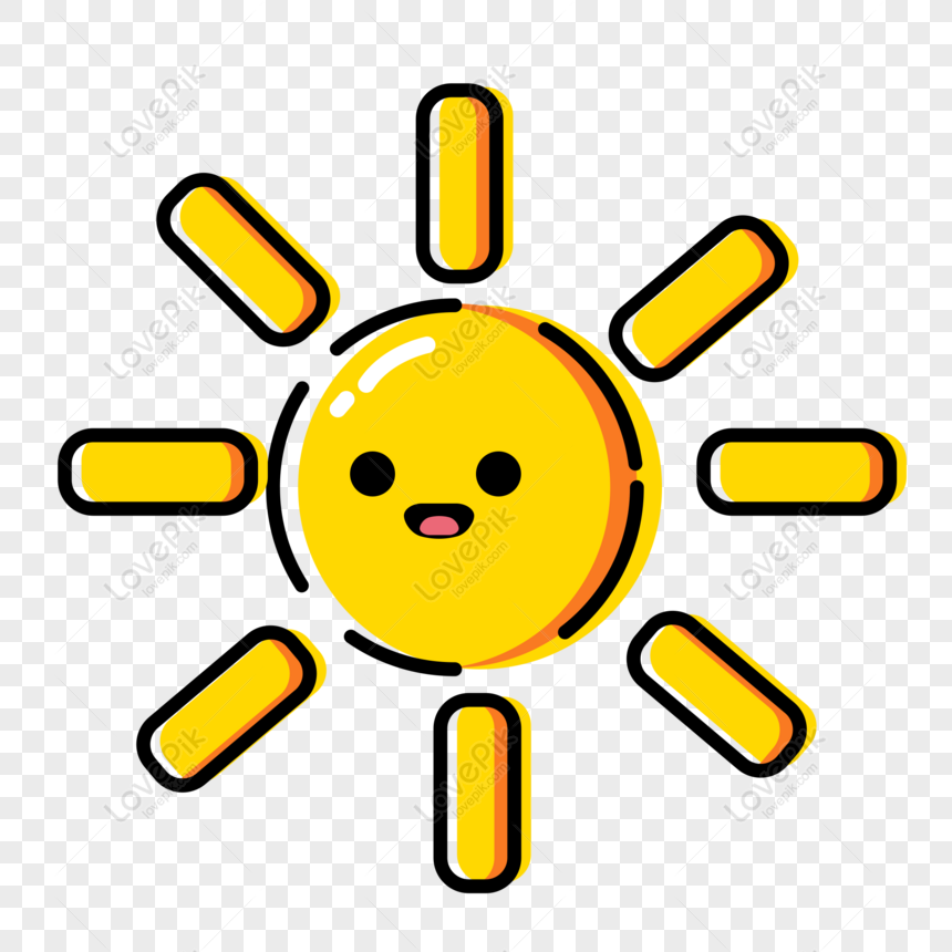 mbe icon sunny weather sun commercial element png