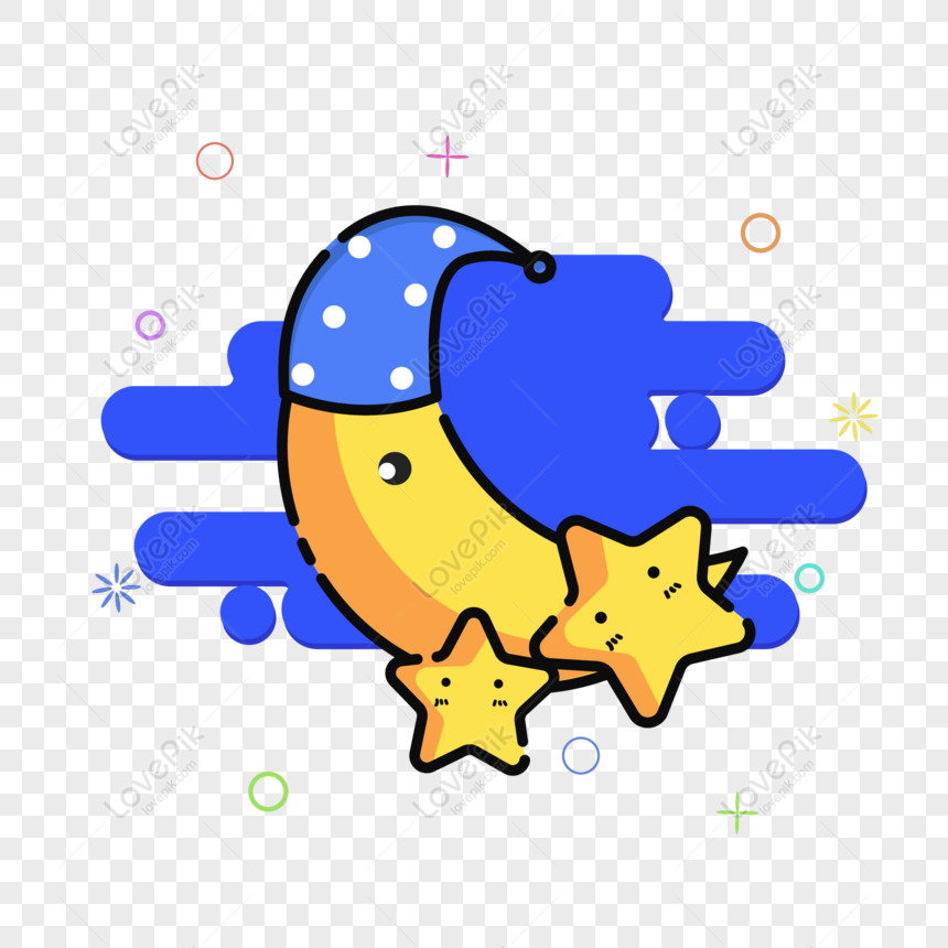 mbe cute night sunny gas phone disconnection icon vector materia png