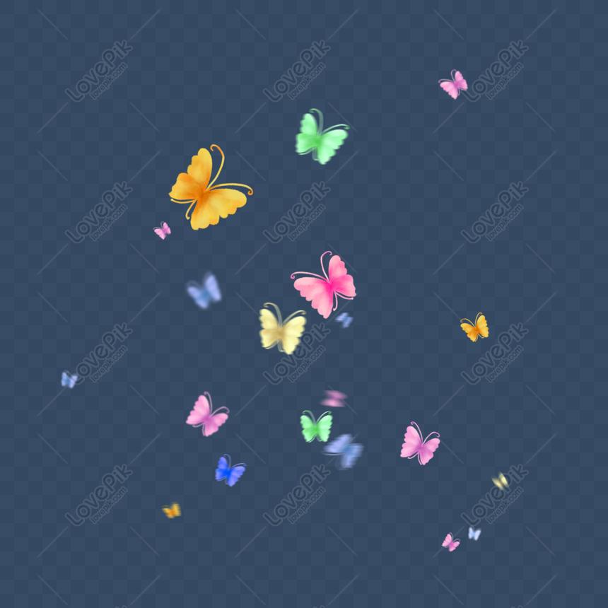 Lovepik 832506167 Id 2000 2000px الصور تحميل مجاني فراشة عائمة عائمة على فراشة ملونة تحلق فراشة ملونة Png Psd بحجم