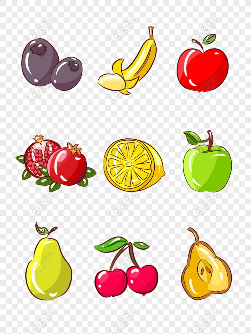 Percuma Buah Buahan Dan Sayur Sayuran Mudah Buah Buahan Kartun Yang Dita Png Psd Gambar Muat Turun Saiz Imej1024 1369px Id832691534 Lovepik