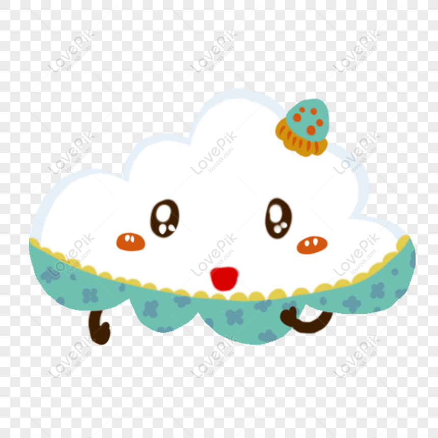 free cartoon white clouds hand drawn cute cartoon clouds png psd image download size 2000 2000 px id 832701064 lovepik lovepik