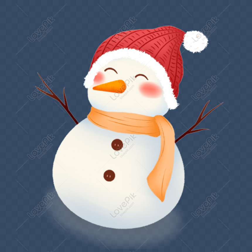 Gratis Boneco De Neve De Inverno Branco Bonito Dos Desenhos