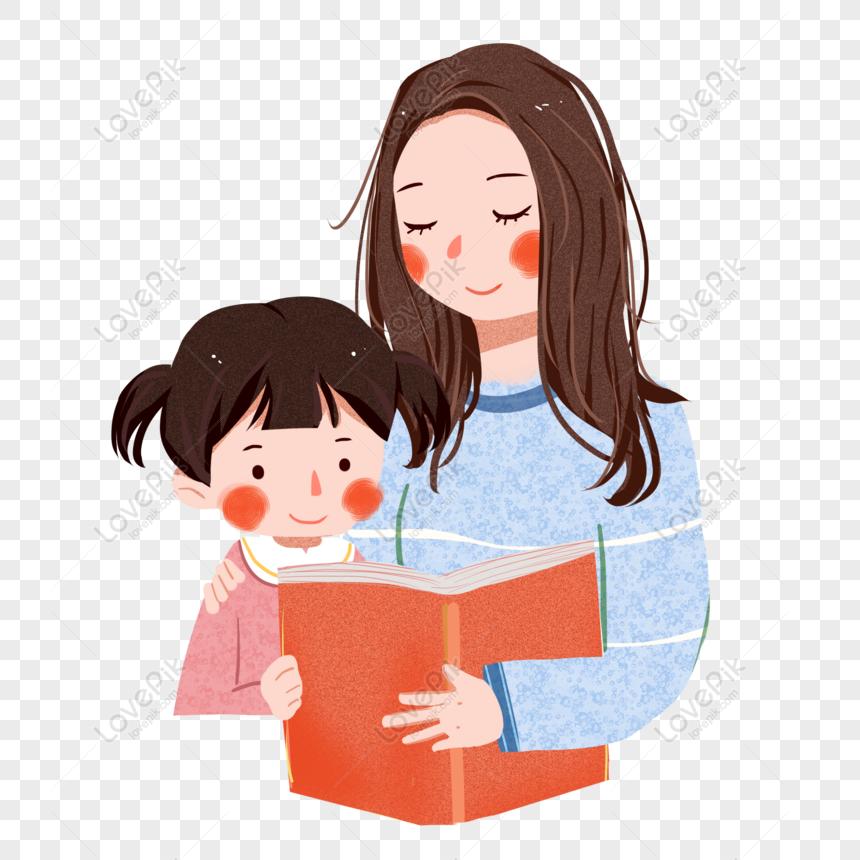 этой рисунок я читаю вместе с мамой этом