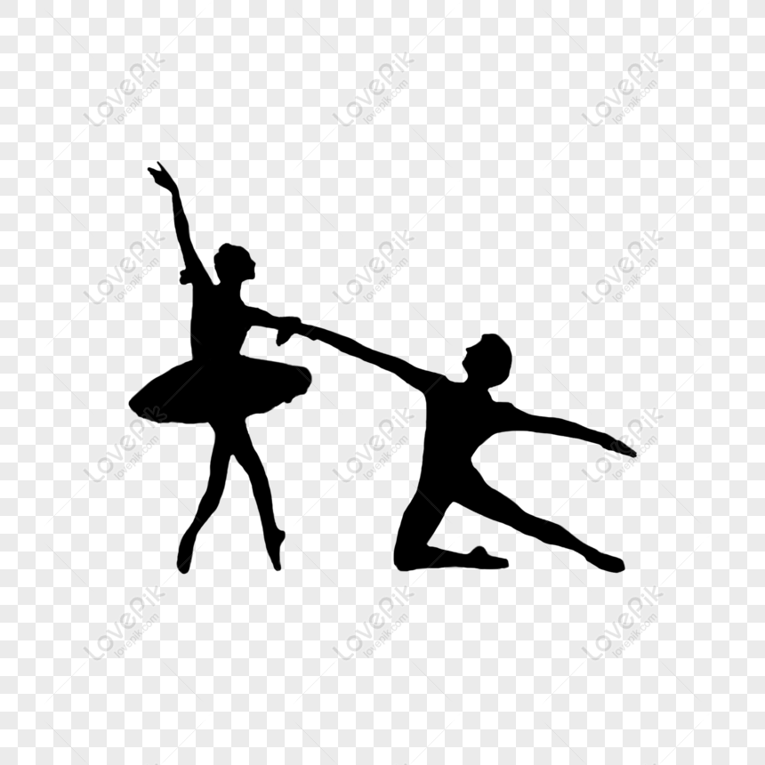 Free Cartoon Black Dance Silhouette Png Psd Image Download Size 2000 2000 Px Id 833588585 Lovepik