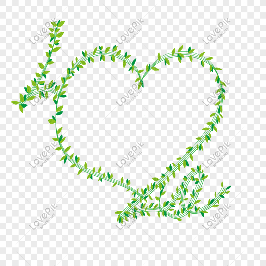 green laminated leaves heart shaped psd photo frame png image picture free download 713806862 lovepik com green laminated leaves heart shaped psd