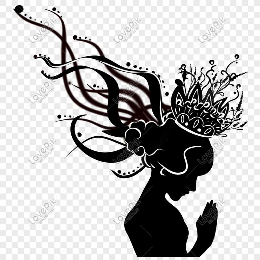 siluet wajah sisi indah wanita png grafik gambar unduh gratis lovepik siluet wajah sisi indah wanita png