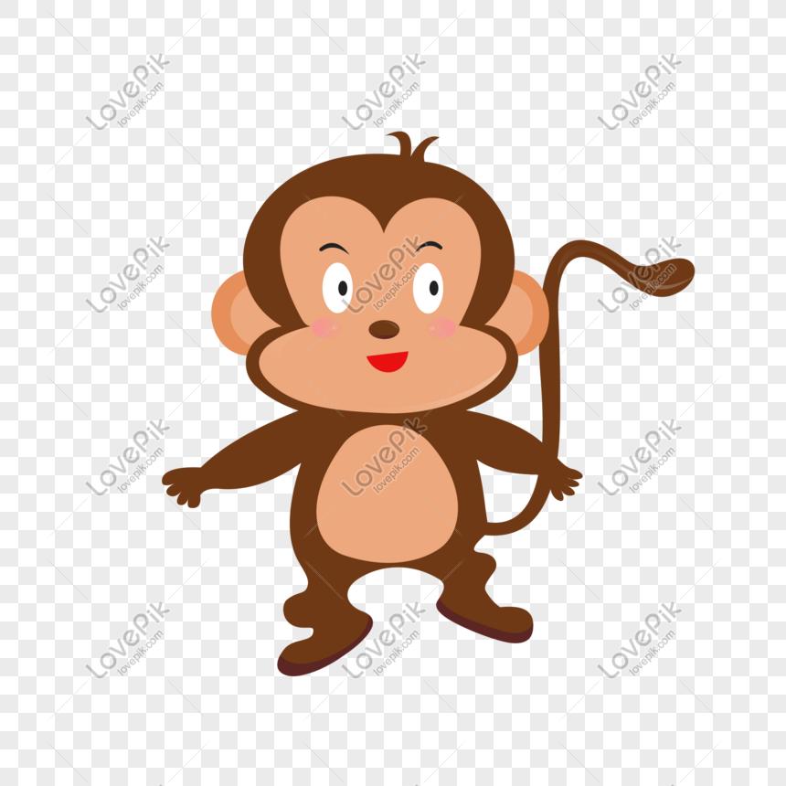 Gambar Monyet Animasi Png Gambar Kartun Monyet Png Grafik Gambar Unduh Gratis Lovepik