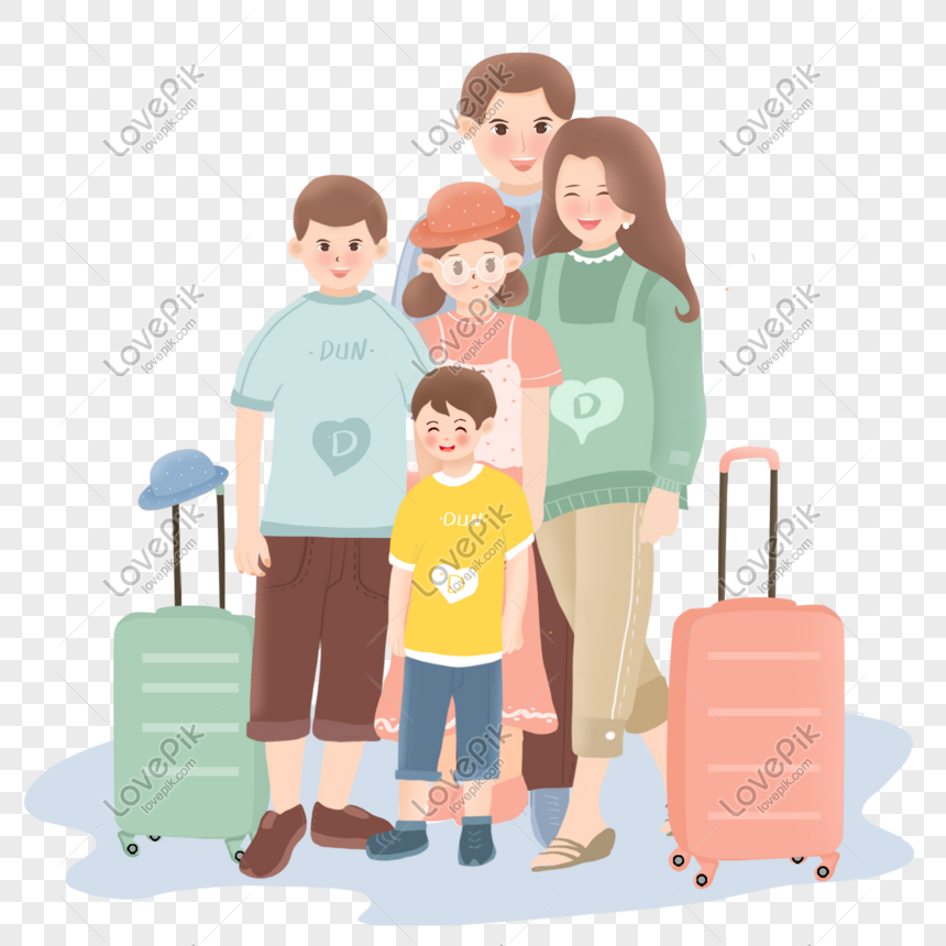 Travel Five Family Vector Stock Photo Png Image Picture Free Download 719668264 Lovepik Com