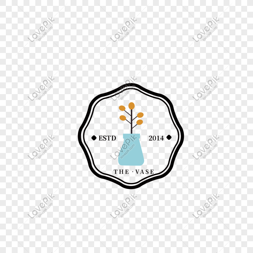 Desain Ikon Logo Vas Kreatif Gambar Unduh Gratis Grafik
