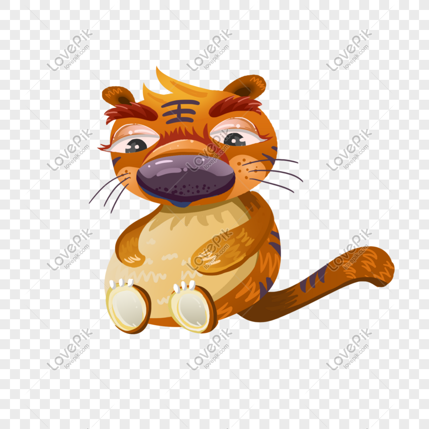 obese cartoon tiger png image picture free download 723519096 lovepik com obese cartoon tiger png image picture