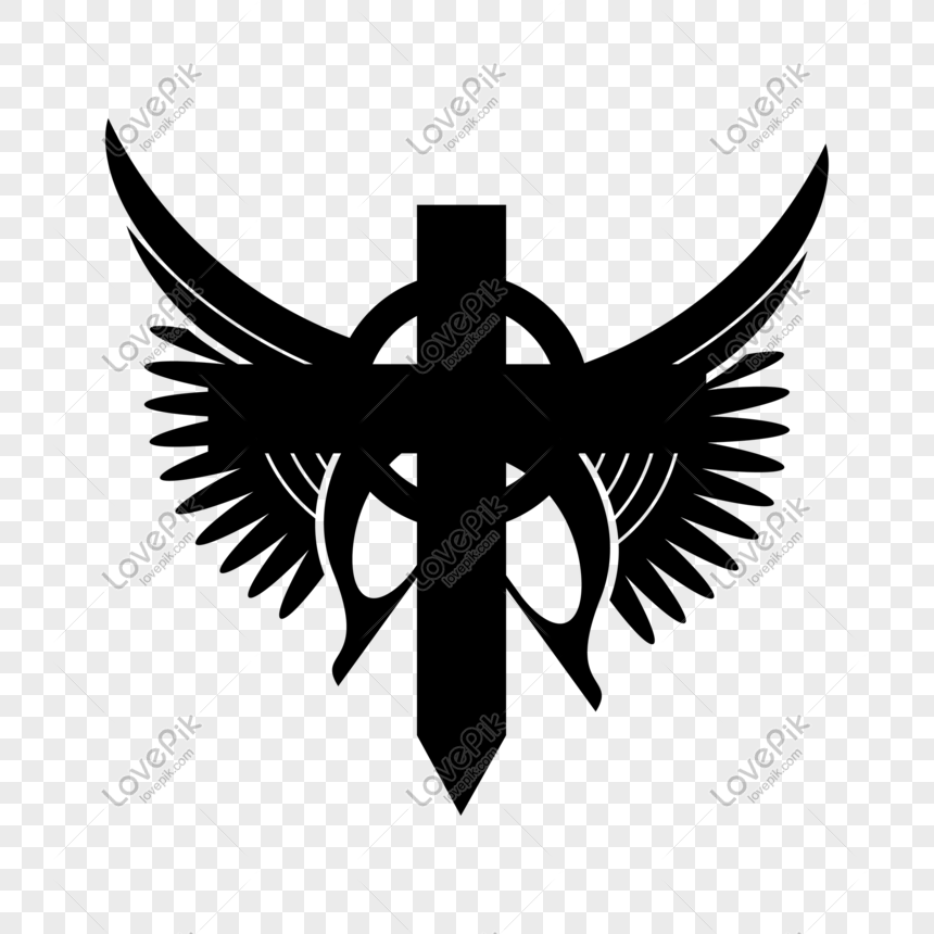 Creative Cross Tattoo Free Png Transparent Layer Material