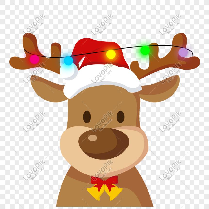 Christmas Reindeer Png.Cute Christmas Reindeer Festival Vector Material Png