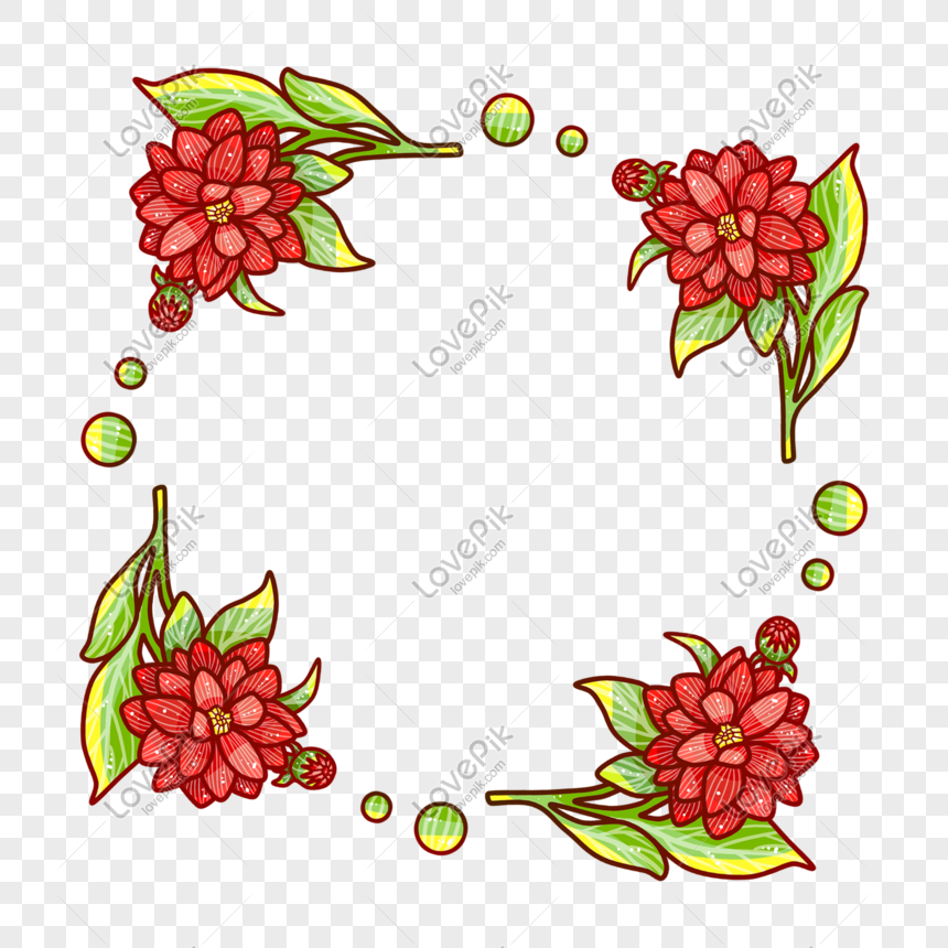 Cartoon Flower Circle Shape Png Element Png Image Picture Free Download 728211848 Lovepik Com
