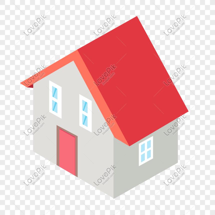 Hd Hand Drawn Cartoon House Castle Png Transparent