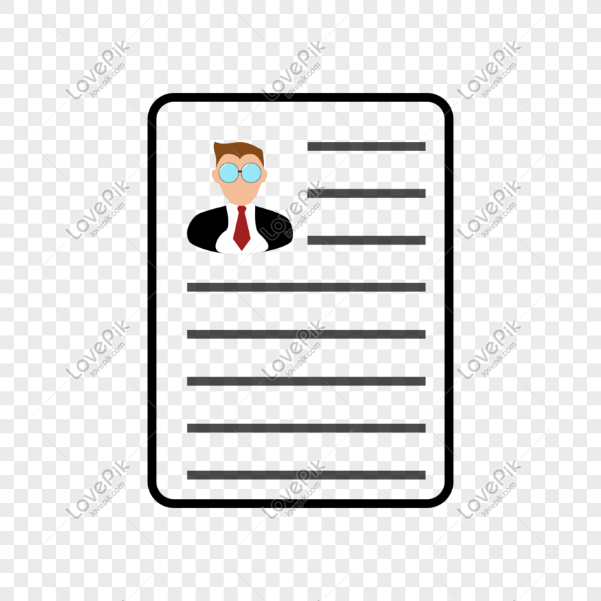 Resume Job Search Picture Png Element Png Image Picture Free