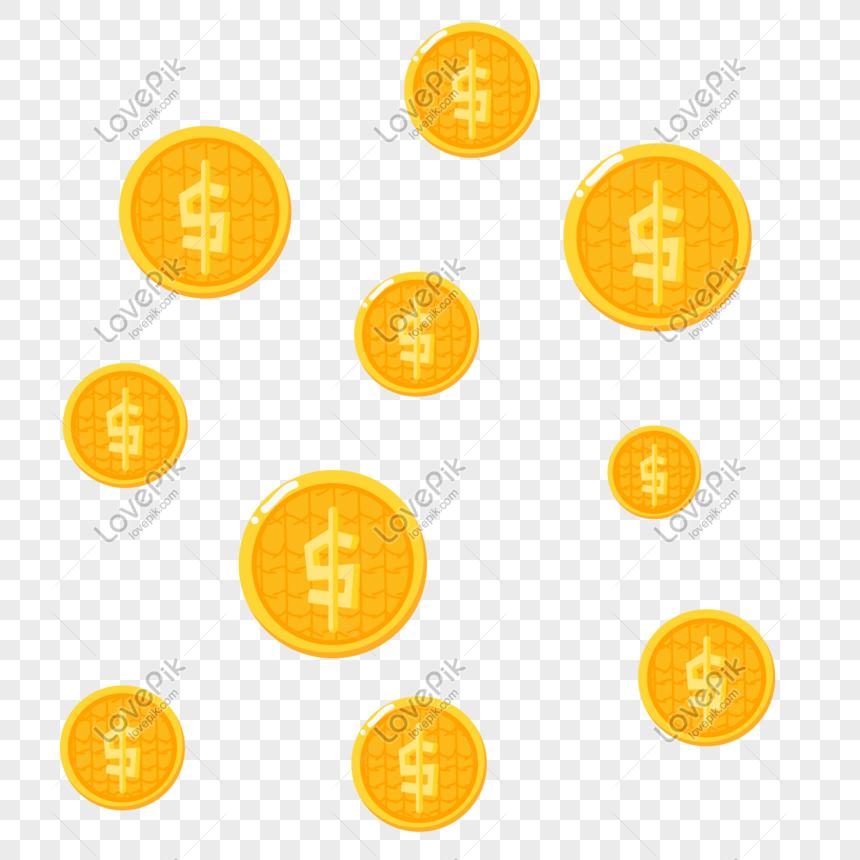 Gambar Uang Koin Kartun Cartoon Suspended Dollar Gold Coin Illustration Png Image Picture Free Download 728351083 Lovepik Com