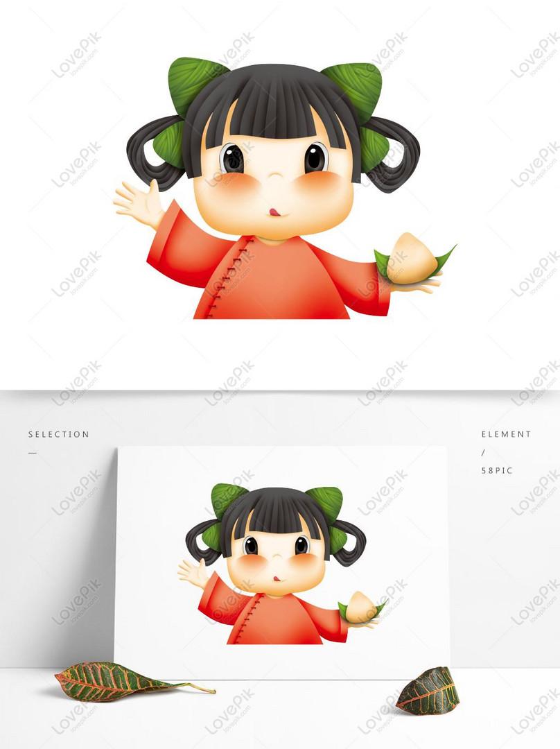 Big Eye Cute Cartoon Doll Element Psd Images Free Download 1369