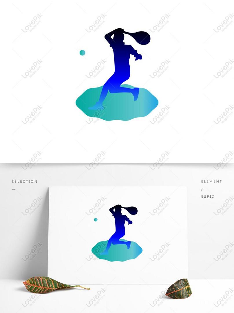 テニスの王子様カラーグラデーション装飾イメージ グラフィックス Id