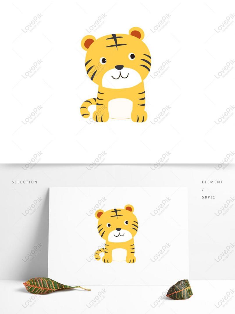 40 Gambar Hewan Kartun Harimau Gratis Terbaik