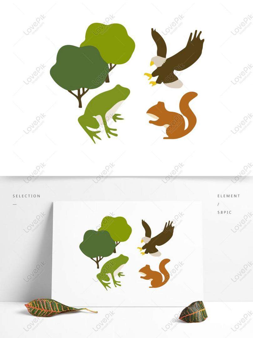 83+ Gambar Ilustrasi Hewan Dan Lingkungan Gratis