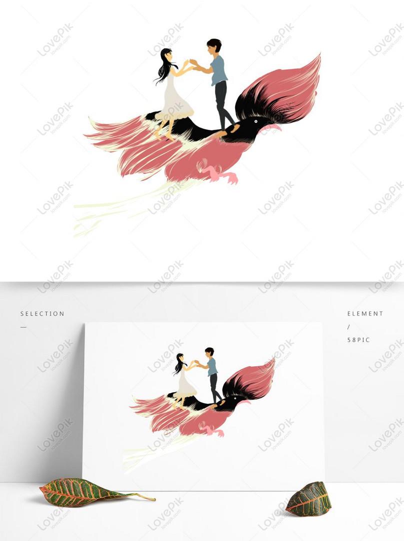 Aguila En La Espalda elementos de pareja en la espalda del águila rosa imagen