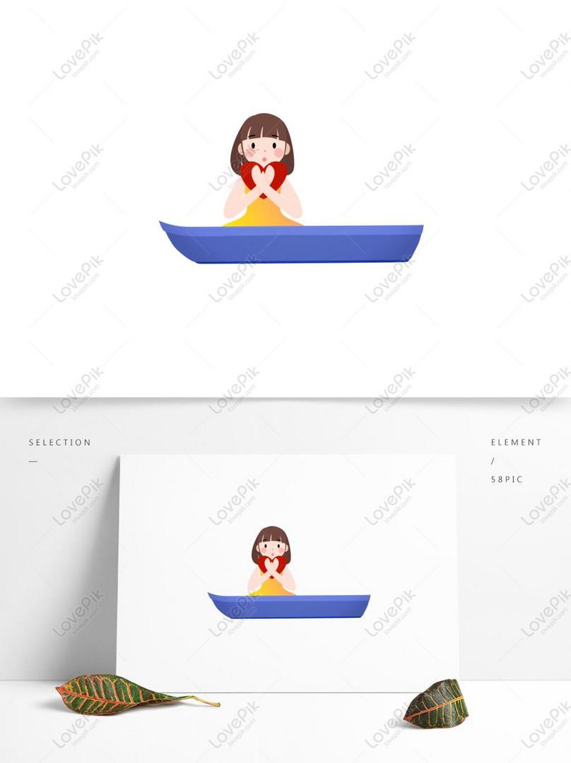 かわいい小さな女の子のイラスト素材イメージグラフィックス Id