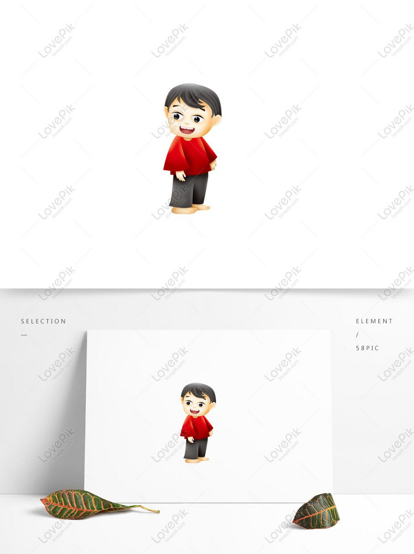 Q Cute Big Eyes Little Boy Psd Design Psd Images Free