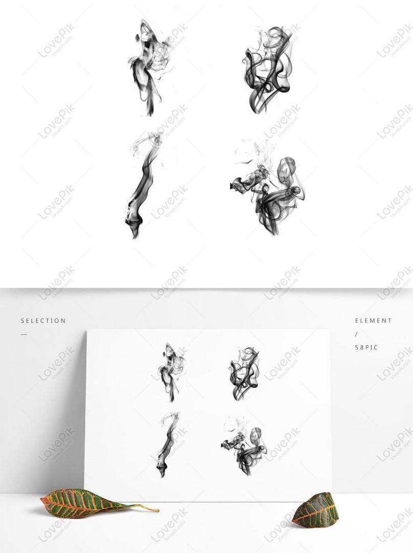 classical ink smoke chinese wind smoke