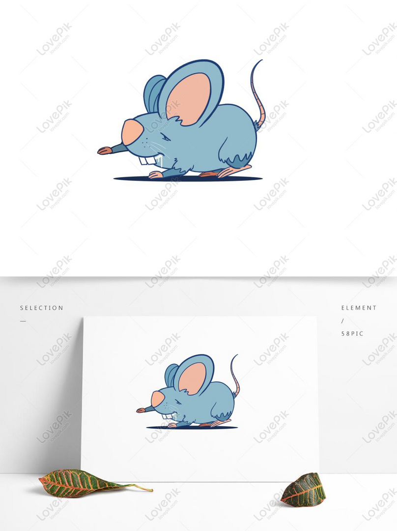 Cute Animal Mouse Limbs Layered For Animation Or