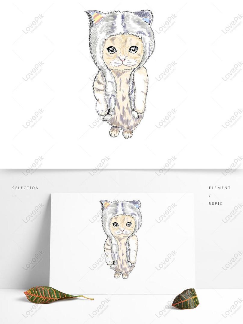 Unduh 95+  Gambar Kucing Mudah Imut HD