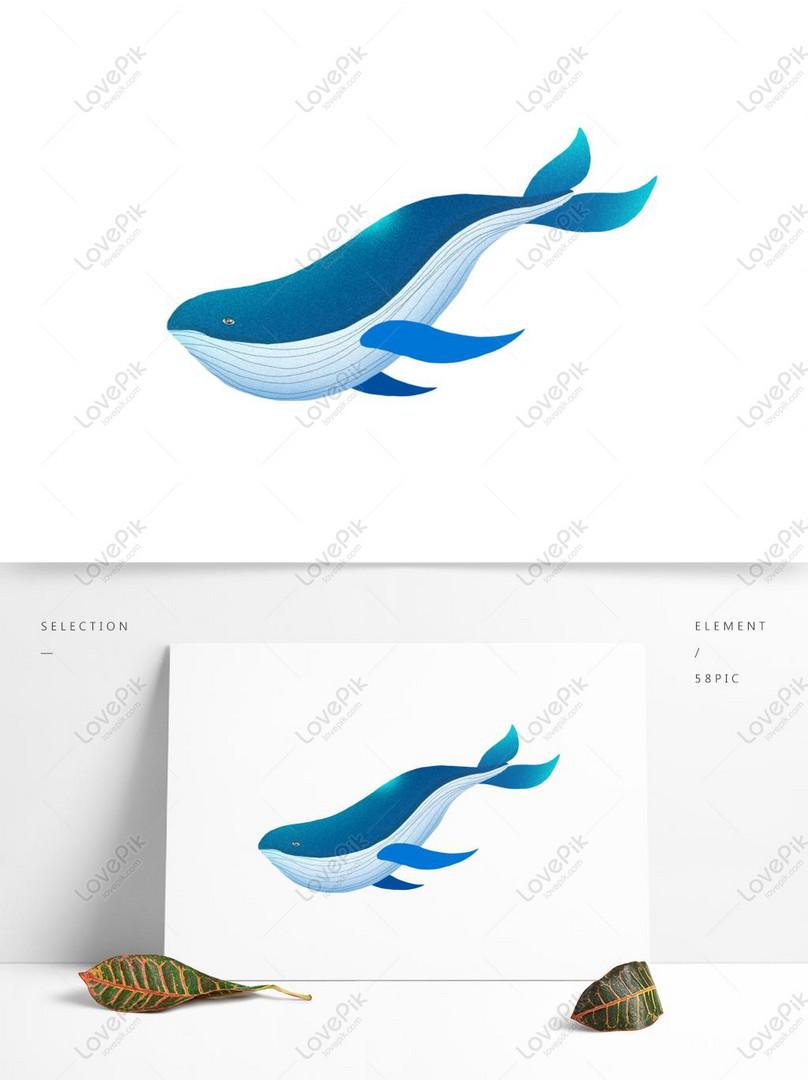 Rumpai Laut Dalam Dalam Lukisan Haiwan Yang Dicat Dengan