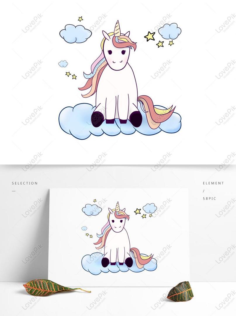 Kumpulan Gambar Awan Unicorn HD Paling Keren