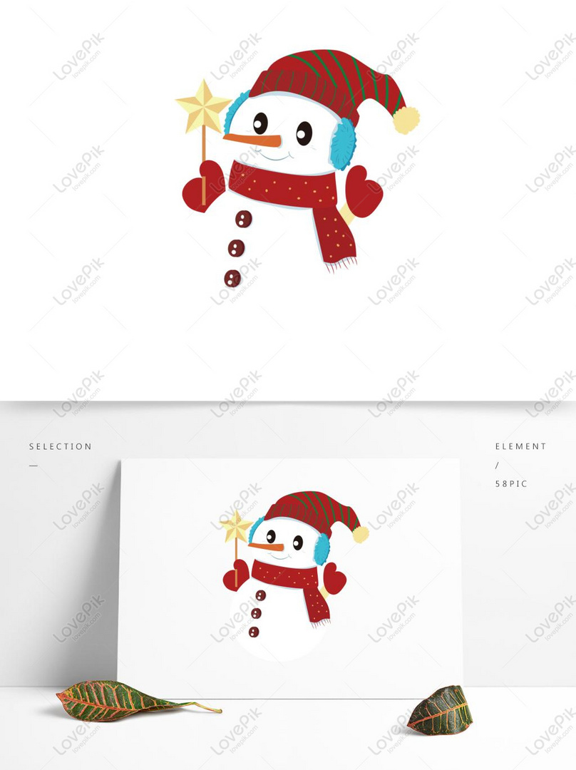 Bonito Branca Natal Inverno Colorido Vestido Boneco Neve Imagem