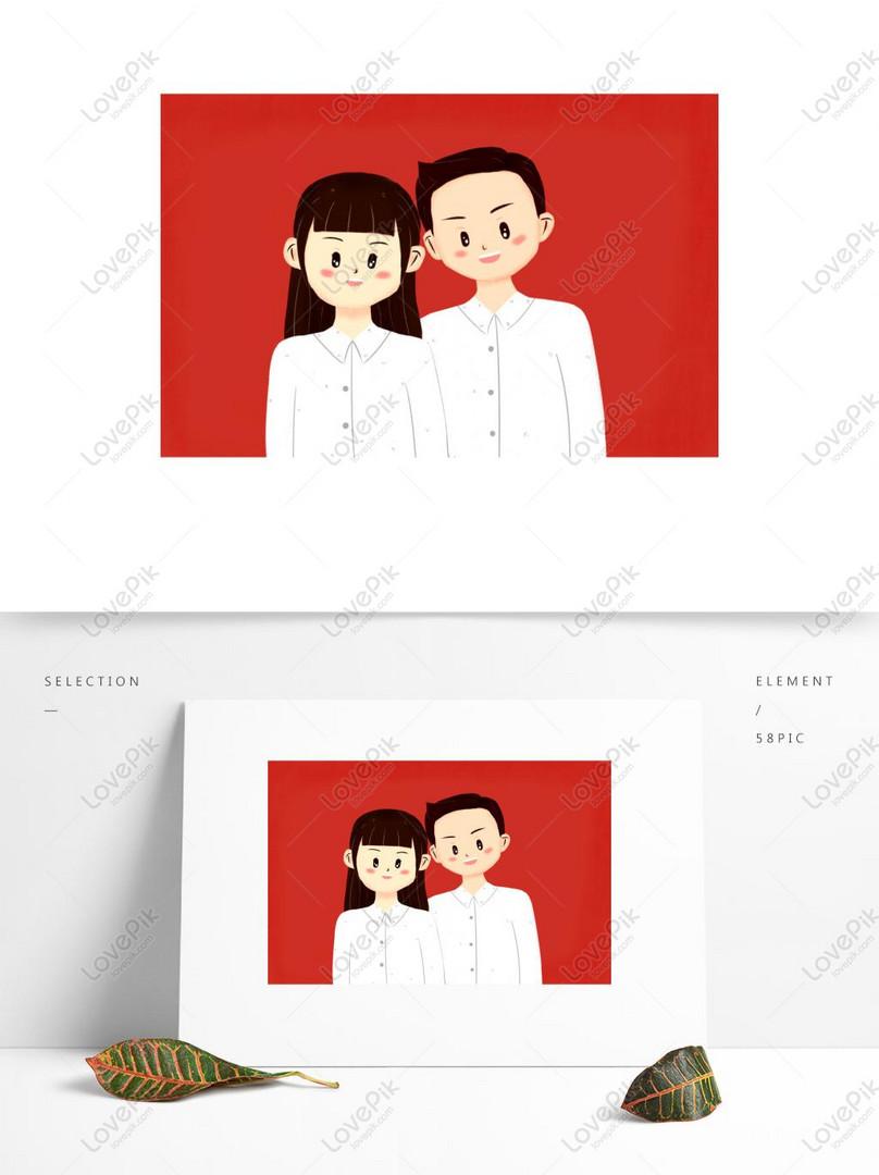 Latar Belakang Merah Sijil Perkahwinan Perkahwinan Dan Bahan