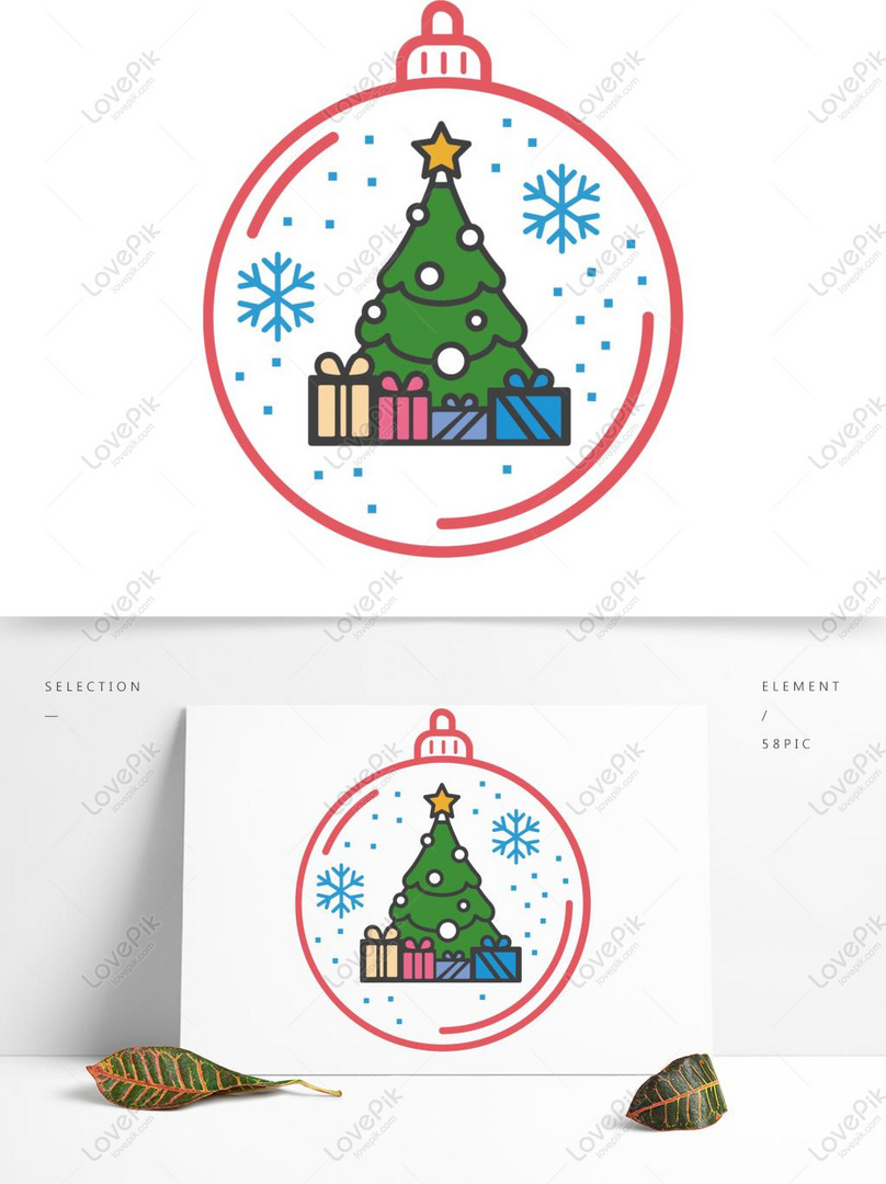 Photo De Noel Dessin Anime Flocon De Neige Decoration Boule Noel