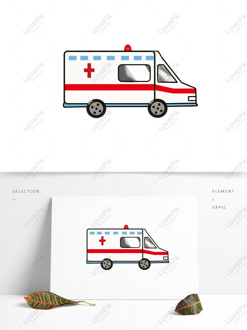 Lovepik صورة Psd 732445812 Id الرسومات بحث صور سيارة إسعاف مرسومة باليد باللون الأحمر الأصلي