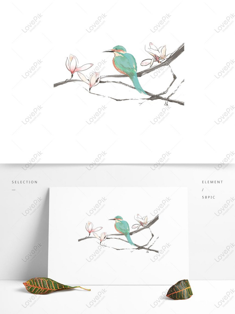 Photo De Fleur De Jade Branche En Fleurs Oiseau Vert Fond De