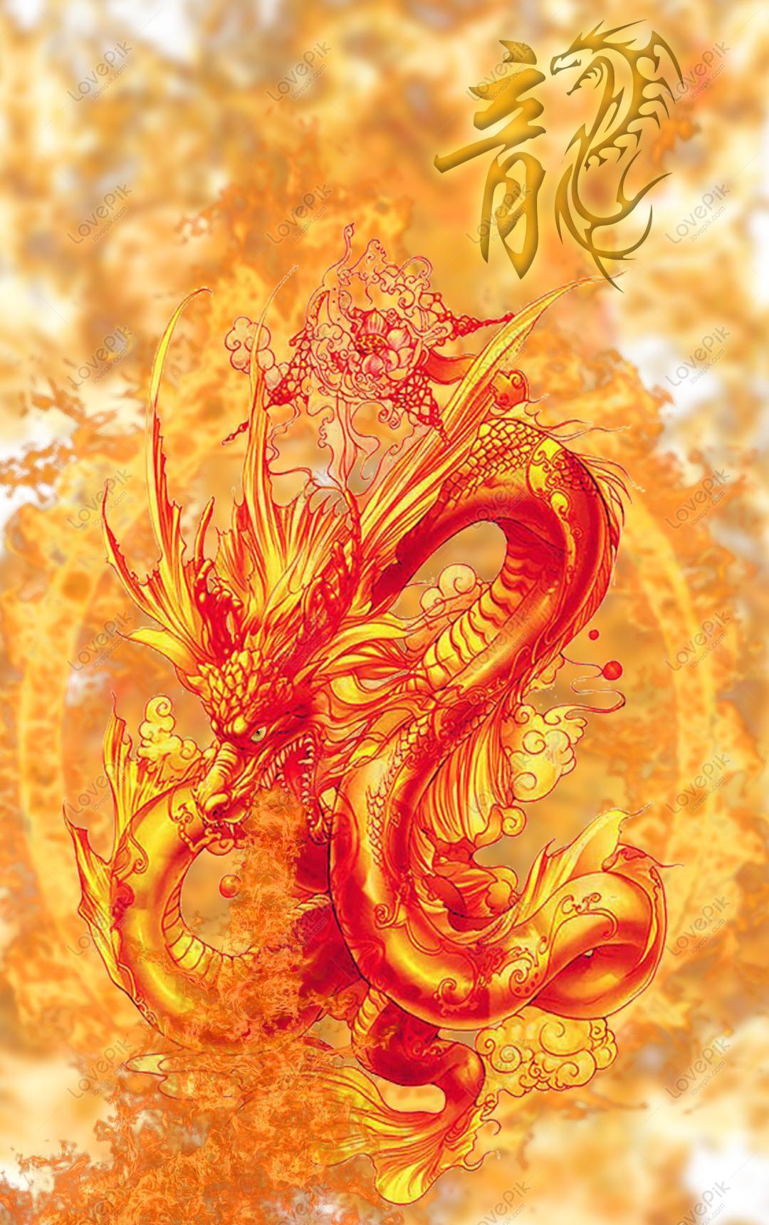 Ide Wallpaper Hd Naga Cina Api Gambar Unduh Gratis Grafik 732459055 Format Gambar Psd Lovepik Com