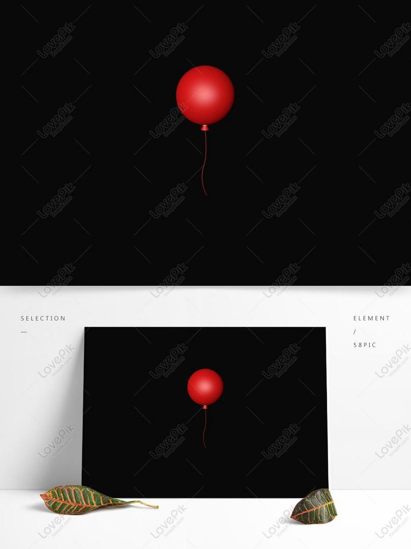 風船 デジタル パンフレット 赤い
