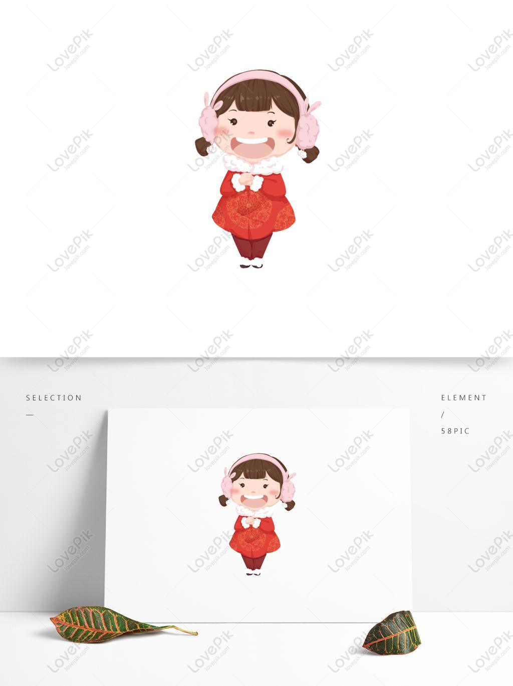 Kartun Lucu Lucu Ketawa Gadis Gambar Unduh Gratis Imej