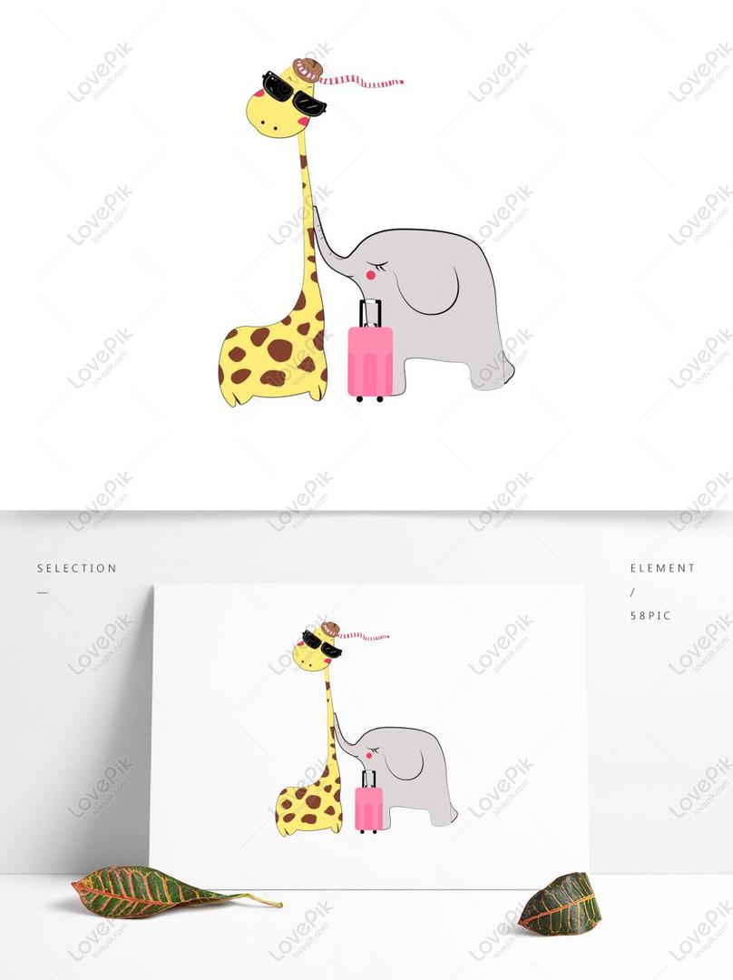 88+ Gambar Hewan Gajah Dan Jerapah Terbaru