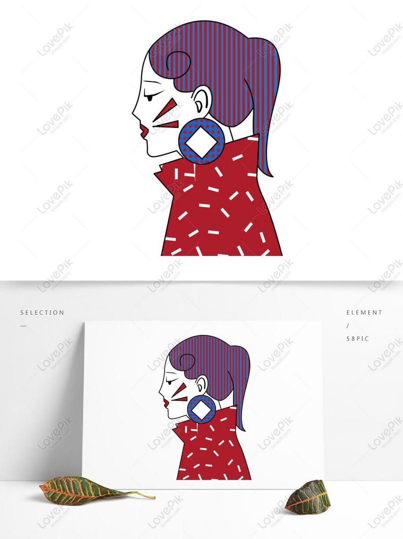 Photo De Création De Personnage De Dessin Animé Couleur Pop