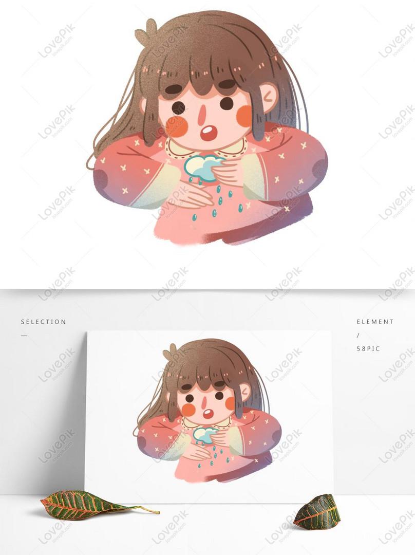 漫画かわいい女の子イラストキャラクター素材イメージグラフィックス Id