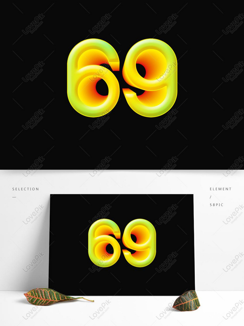 Creative 3d Cartoon Number Element Element PSD Images Free