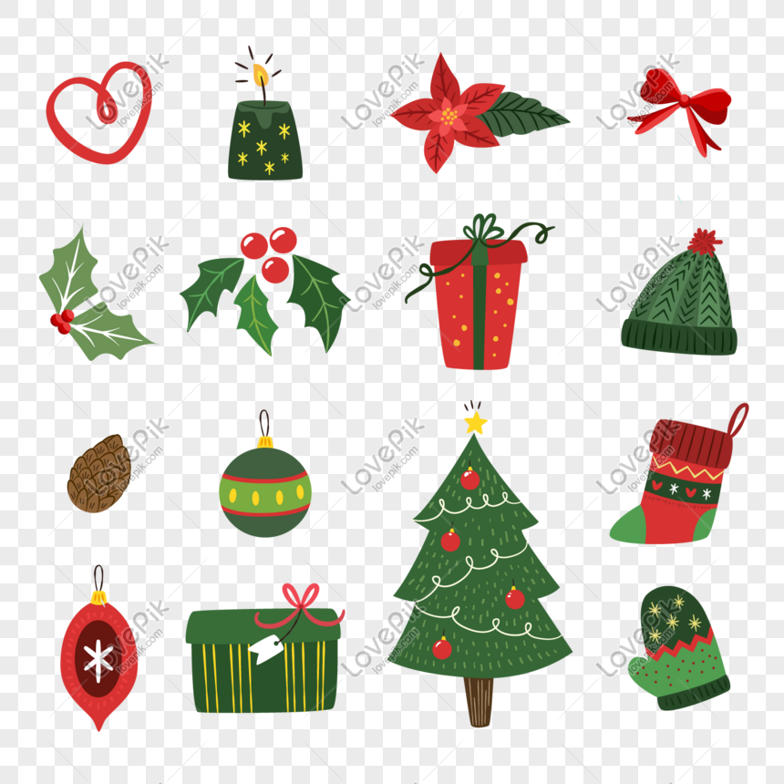 Beautiful Christmas Theme Cartoon Decorative Icon Png Image Picture Free Download 649833018 Lovepik Com