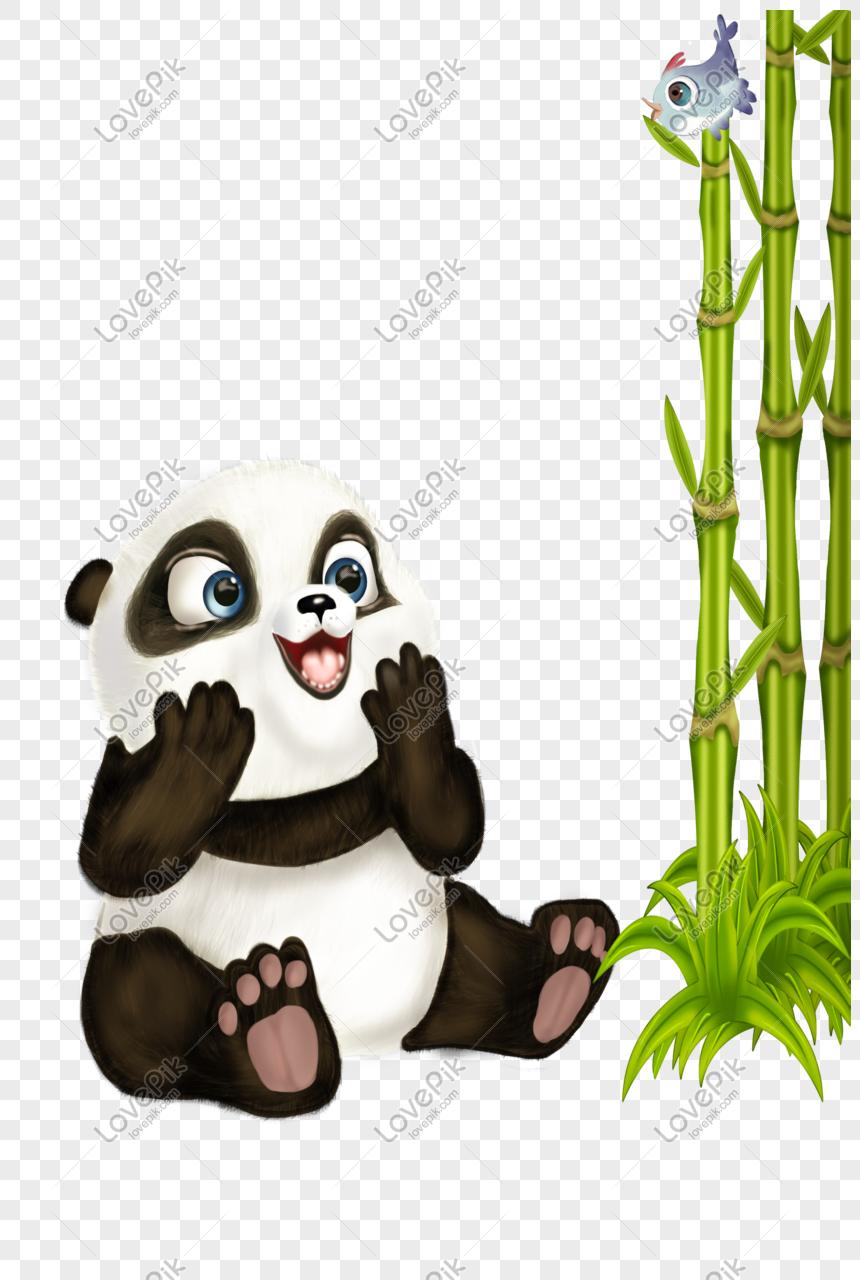 Bayang Bayang El Yang Dicat Dengan Tangan Bayi Panda