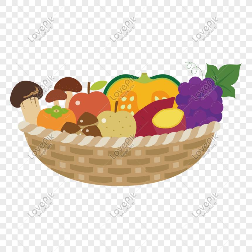 Fruit Salad Food Gift Baskets Fruits Basket Cartoon Flower Png Pngegg