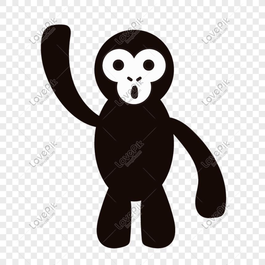 Haiwan Kartun Yang Ditarik Haiwan Hitam Dan Putih Gambar Unduh Gratis Imej 610142533 Format Psd My Lovepik Com