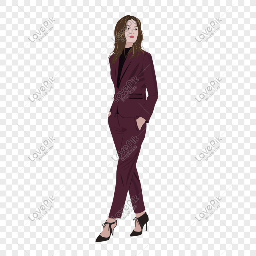 fashionable beautiful european and american business style workp png