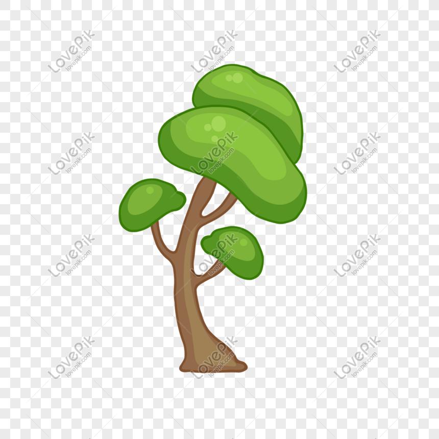 Cartoon Big Tree Vector Material Png Image Picture Free Download 610180177 Lovepik Com